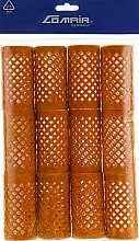 Духи, Парфюмерия, косметика Металлические бигуди оранжевые, 32 мм - Comair