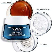 Антивозрастной ночной крем-уход с компенсирующим эффектом для всех типов кожи - Vichy Neovadiol Nuit Compensating Complex  — фото N7