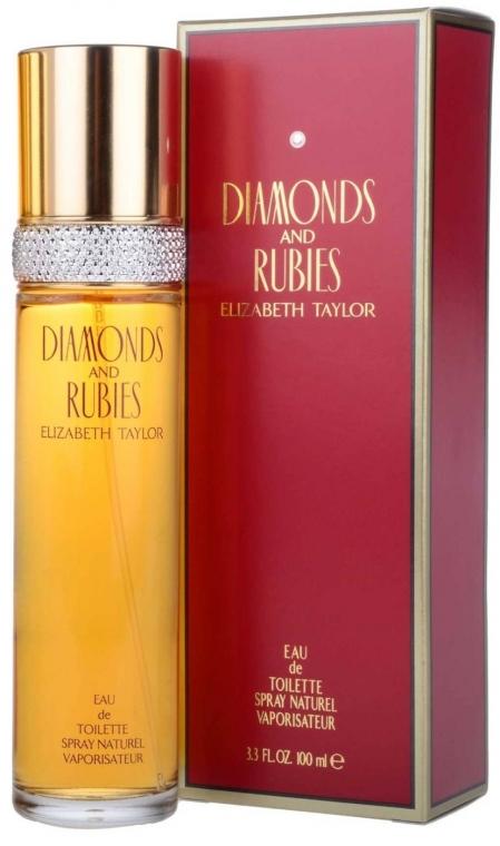 Elizabeth Taylor Diamonds&Rubies - Туалетная вода  — фото N1