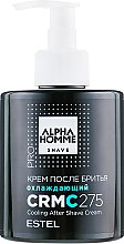 Парфумерія, косметика Охолоджувальний крем після гоління - Estel Professional Alpha Homme After Shave Cream
