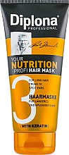 Духи, Парфюмерия, косметика Маска питание для длинных волос с секущимися кончиками - Diplona Professional Your Nutrition Profi Mask