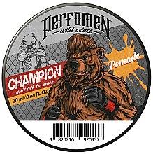 Духи, Парфюмерия, косметика Помада для укладки волос - Perfomen Wild Series Champion Pomade
