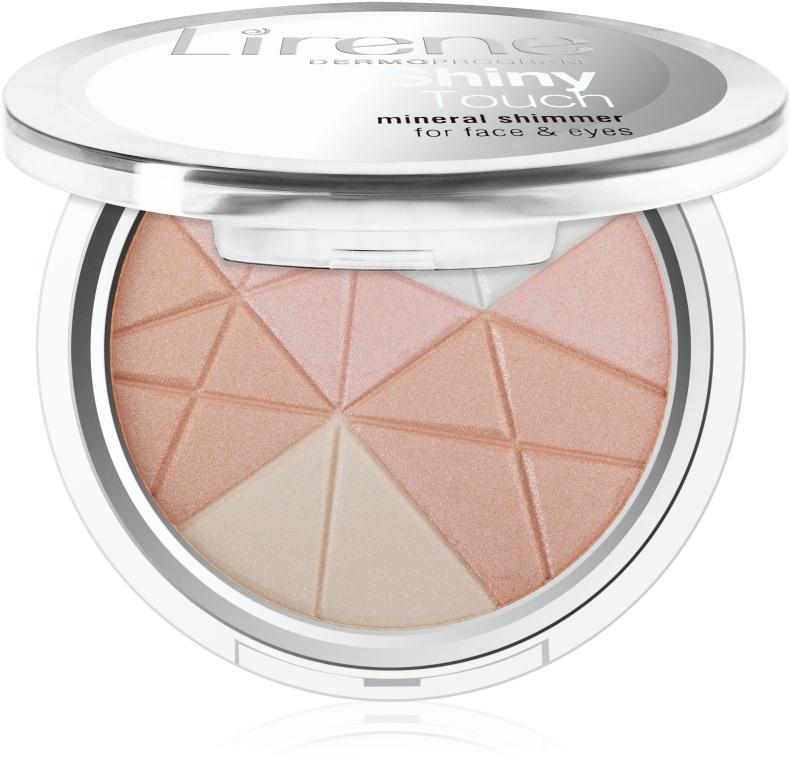 Шиммер для лица - Lirene Shiny Touch Mineral Shimmer