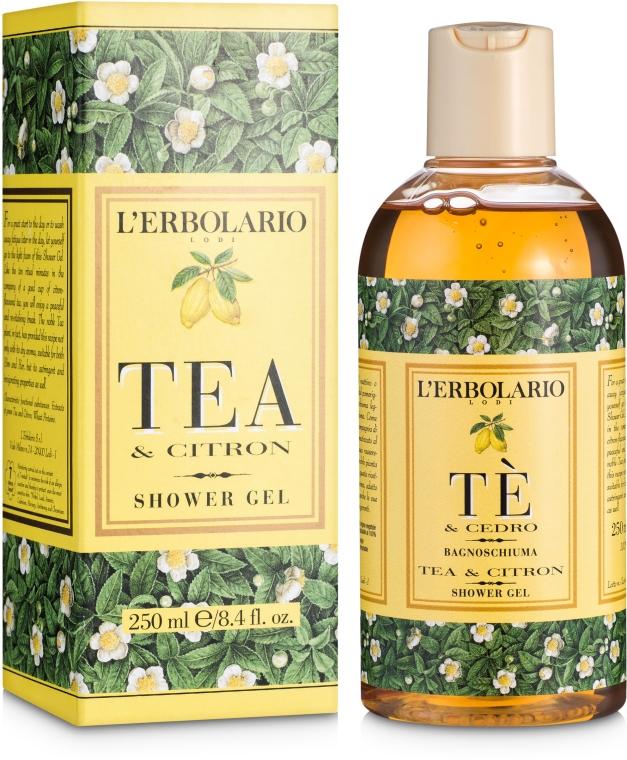 """Пена для ванны-гель для душа """"Чай и цитрон"""" - L'Erbolario Bagnoschiuma Te e Cedro"""