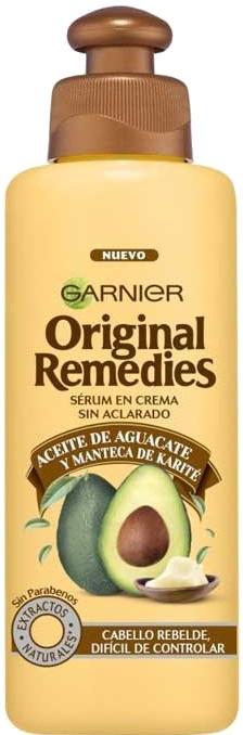 """Крем-масло для непослушных волос """"Авокадо"""" - Garnier Original Remedies Avocado Cream Oil"""