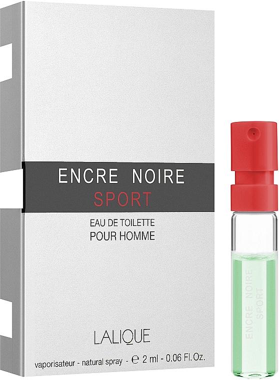 Lalique Encre Noire Sport - Туалетная вода (пробник)
