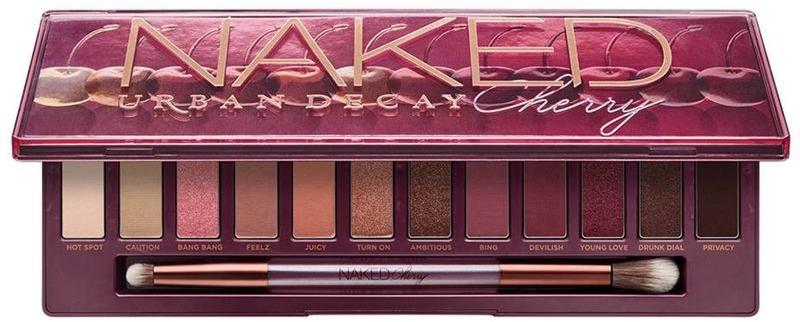 Палетка теней - Urban Decay Naked Cherry Eyeshadow Palette