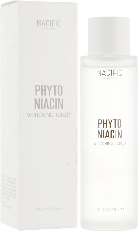 Тонер для лица, осветляющий - Nacific Phyto Niacin Whitening Toner — фото N1