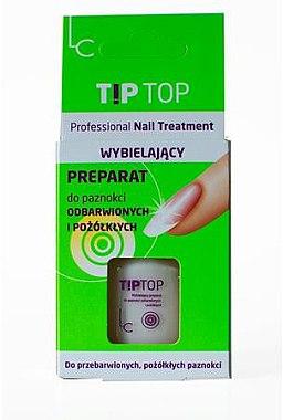 Отбеливающее средство для обесцвеченных и пожелтевших ногтей - Laura Conti Tip Top Nail Treatment