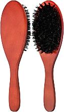Духи, Парфюмерия, косметика Щетка деревянная с натуральной щетиной - Ласковая