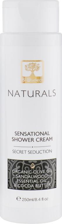 """Нежный крем-гель для душа """"Тайный соблазн"""" - BIOselect Naturals Shower Cream Gel"""