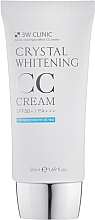 Духи, Парфюмерия, косметика Осветляющий СС-крем - 3W Clinic Crystal Whitening CC Cream SPF50
