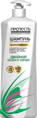 """Шампунь для волос """"Объем и питание"""" - Прелесть Professional"""