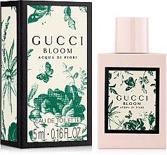 Духи, Парфюмерия, косметика Gucci Bloom Acqua Di Fiori - Туалетная вода (мини)