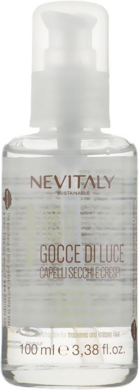 Капли с рисом для сухих и поврежденных кончиков волос - Nevitaly