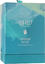 Парфумерія, косметика Набір - Scottish Fine Soaps Sea Kelp (sh/gel/75ml + b/but/75ml + h/chr/75ml + soap/40g)