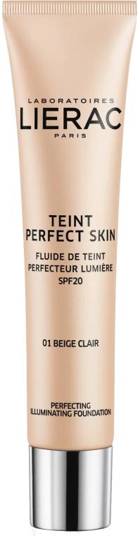 Тональный флюид - Lierac Teint Perfect Skin Illuminating Fluid Spf 20