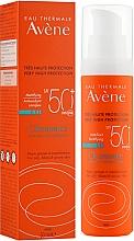Духи, Парфюмерия, косметика Солнцезащитный крем для жирной кожи - Avene Solaires Cleanance Sun Care SPF 50+