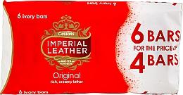 Духи, Парфюмерия, косметика Набор мыла - Imperial Leather Soap Original (Soap/100g x 6шт)