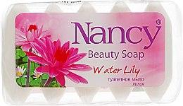 "Духи, Парфюмерия, косметика Туалетное мыло ""Водная лилия"" - Nancy Beauty Soap"