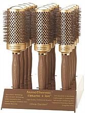 Духи, Парфюмерия, косметика Набор щеток для волос, 12 шт. - Olivia Garden Nano Thermic Ceramic + Ion