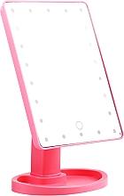 Духи, Парфюмерия, косметика Большое зеркало для макияжа, розовое - Lewer