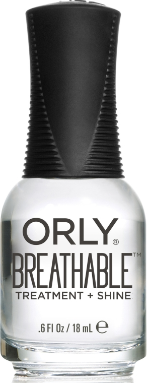Прозрачный блеск-уход для ультраглянца - Orly Breathable Treatment Plus Shine