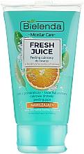 """Духи, Парфюмерия, косметика Увлажняющий пилинг для лица """"Апельсин"""" - Bielenda Fresh Juice Peel"""