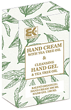 Духи, Парфюмерия, косметика Набор - Brazil Keratin Tea Tree Oil (h/cream/100ml + h/gel/100ml)