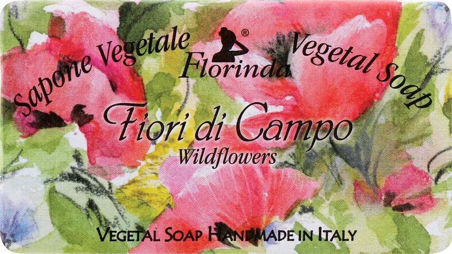 "Мыло натуральное ""Полевые цветы"" - Florinda Sapone Vegetale Vegetal Soap Wild Flowers"