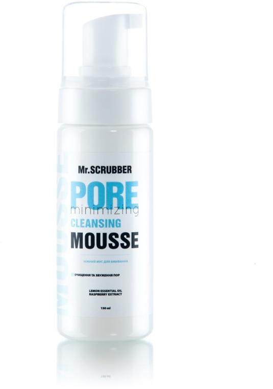"""Нежный мусс для умывания """"Очищение и сужение пор"""" - Mr.Scrubber Clay Pore Minimizing Cleansing Mousse"""
