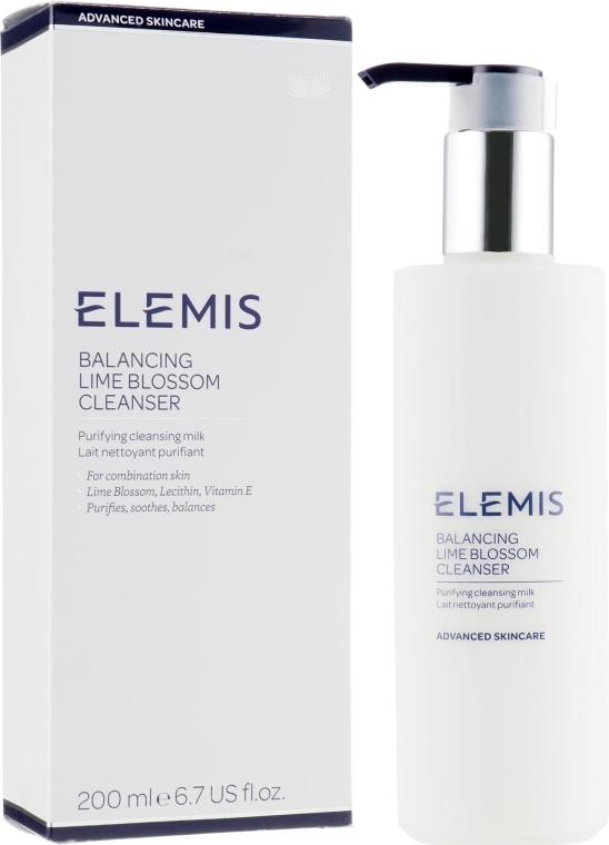 Очищающее молочко для лица - Elemis Balancing Lime Blossom Cleanser