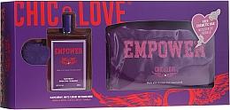 Духи, Парфюмерия, косметика Chic&Love Empower - Набор (edt/100ml + bag)