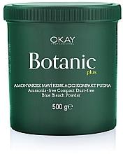 Духи, Парфюмерия, косметика Пудра для обесцвечивание без аммиака - Botanic Plus Ammonia-Free Compact Dust-Free Blue Bleach Powder