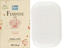 Духи, Парфюмерия, косметика Мыло для интимной гигиены - Yoko Feminine Soap
