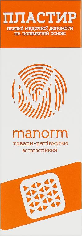 Пластырь первой медицинской помощи на полимерной основе - Manorm