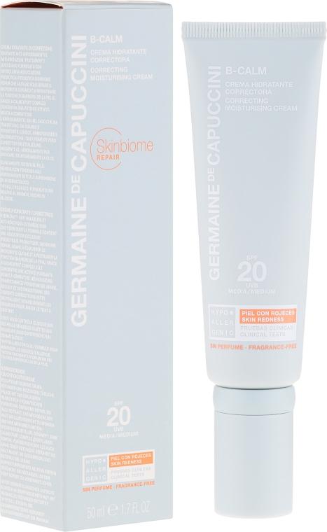Корректирующий крем для лица - Germaine de Capuccini B-Calm Correcting Moisturising Cream SPF20
