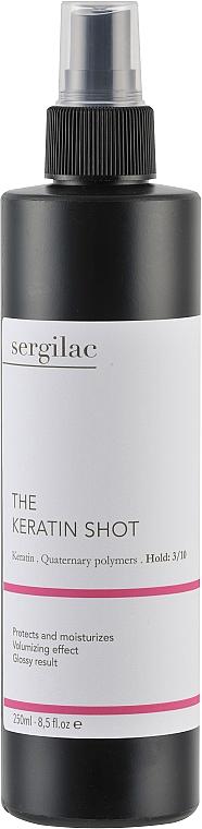 Лосьон кератиновый для волос - Sergilac The Keratin Shot