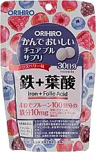 Духи, Парфюмерия, косметика Железо и фолиевая кислота - Orihiro Iron Folic Acid