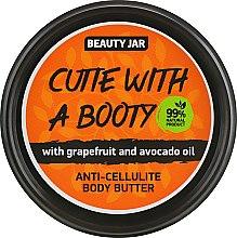 "Духи, Парфюмерия, косметика Антицеллюлитное масло для тела ""Cutie With A Booty"" - Beauty Jar Anti-Cellulite Body Butter"