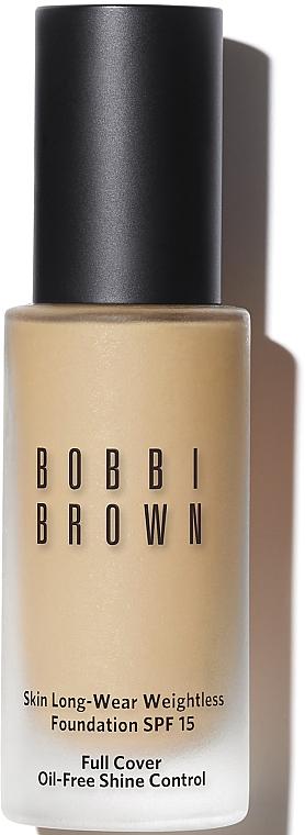 Устойчивое тональное средство - Bobbi Brown Skin Long-Wear Weightless Foundation SPF15