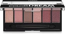 Духи, Парфюмерия, косметика Набор теней для век - Lamel Professional Color The Dream Eyeshadows Palette