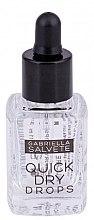 Духи, Парфюмерия, косметика Средство для ухода за ногтями - Gabriella Salvete Nail Care Quick Dry Drops