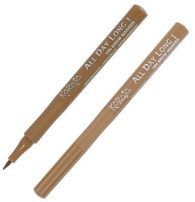 Фломастер для бровей - Karaja Brow Marker All Day Long