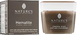 Духи, Парфюмерия, косметика Крем после бритья омолаживающий - Nature's Hematite Antiage & Aftershave Face Cream