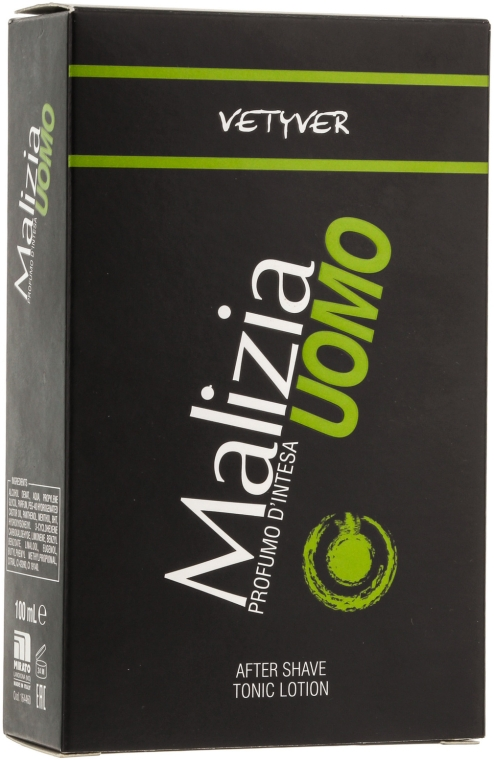 Mirato Malizia Uomo Vetiver - Лосьон после бритья — фото N2