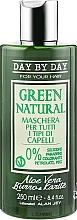 Духи, Парфюмерия, косметика Маска для всех типов волос с алоэ вера и маслом карите - Alan Jey Green Natural Hair Mask