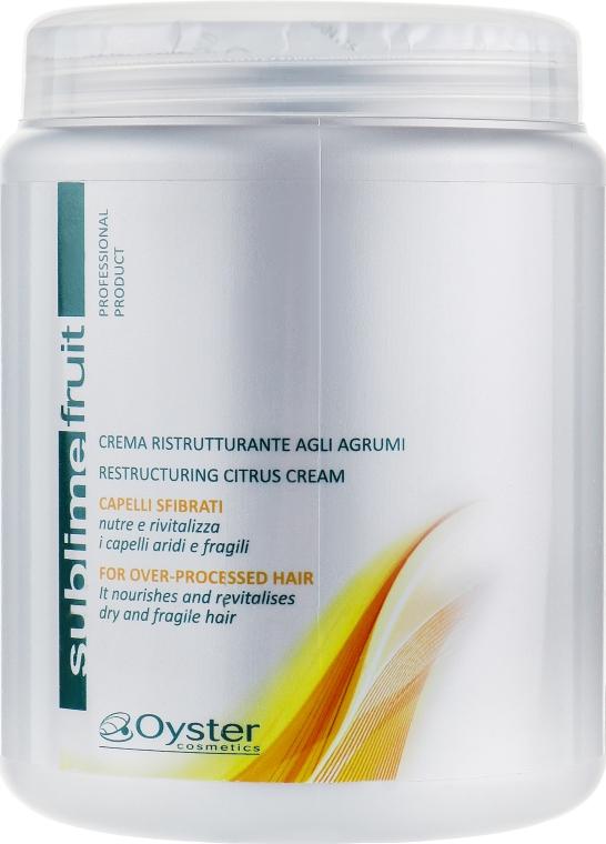 Маска с экстрактом цитрусовых - Oyster Cosmetics Sublime Fruit Citrus Extract Mask