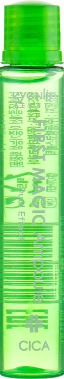 Сыворотка для лица с экстрактом центеллы - Eyenlip First Magic Ampoule Cica