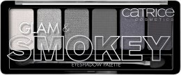 Духи, Парфюмерия, косметика Палетка теней - Catrice Glam & Smokey Eyeshadow Palette